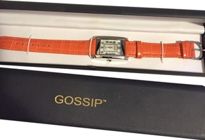 Gossip Orange Leather Watch