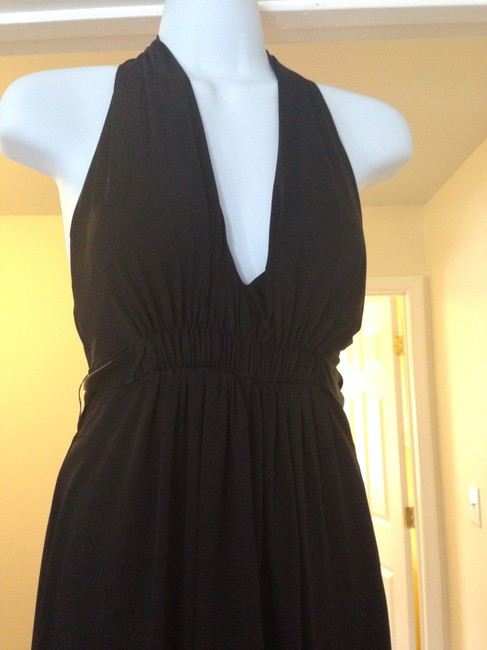 BCBGMAXAZRIA V-neck Backless Dress
