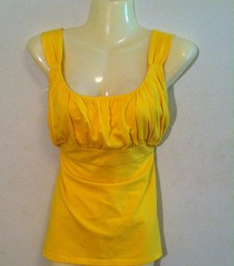 Ann Taylor Top Yellow