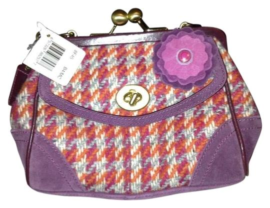 Coach Purple/Orange/Pink Clutch