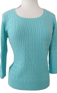 Ann Taylor LOFT Soop Neck 3/4 Length Sleeve Sweater