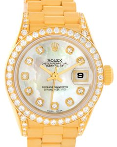 Rolex Rolex President Crown Collection 18K Yellow Gold Diamond Watch 69158