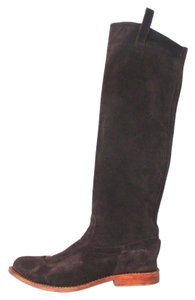 Jim Barnier Suede Classic Brown Boots