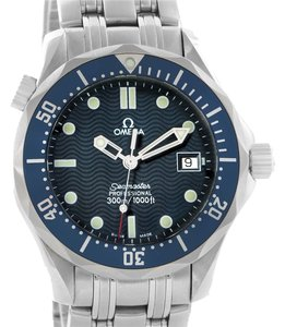 Omega Omega Seamaster James Bond Midsize 300M Watch 2561.80.00 Box Papers
