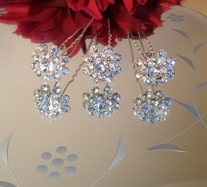Gorgeous Bridal Hair Pins Set Of 3