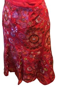 E by Eci Skirt Red and many multi colors