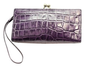 Burberry purple Clutch