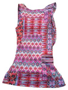 Sweet Pea by Stacy Frati Top Pink/ multi