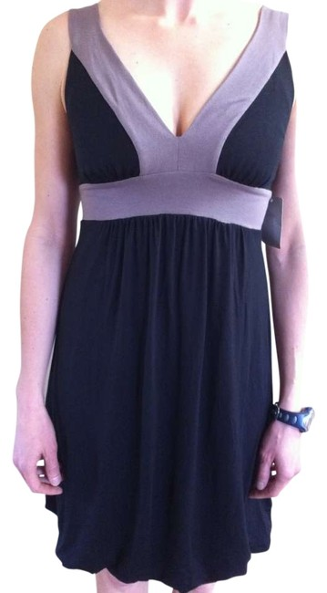 Ella Moss short dress Black with Tan outline New on Tradesy
