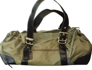 Christian Livingston Collection Satchel in Green