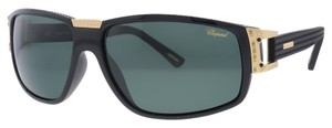 Chopard Chopard SCH 113 Z42P Black Frame Rectangle Racing Sunglasses (12555)