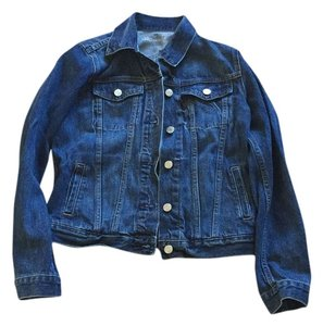 Gap Dark blue Womens Jean Jacket