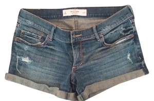 Abercrombie & Fitch Denim Shorts-Distressed