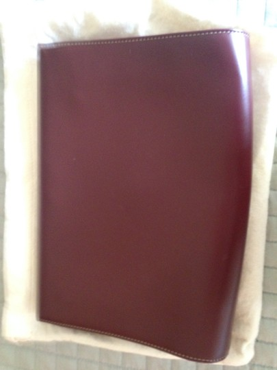 Cartier Oxblood Clutch Image 1