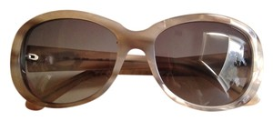 Cartier Cartier Brown/Grey Round Frame Sunglasses
