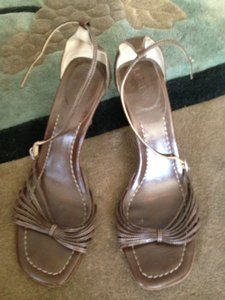 J.Crew Brown Bridesmaid Heel Sandals Size US 8 Regular (M, B)