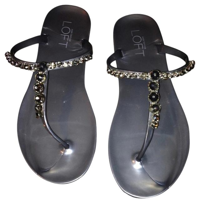 Item - Silver Sandals Size US 6 Regular (M, B)