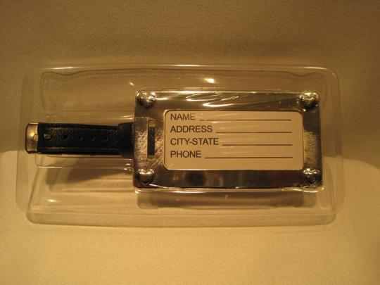 Other Chrome Luggage Tag - [ Roxanne Anjou Closet ]