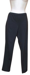 Eileen Fisher Wool Blend Skinny Side-zip Skinny Pants Black