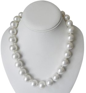 """Pearlfection """"Pearlfection Faux White South Sea Pearls 20"""""""