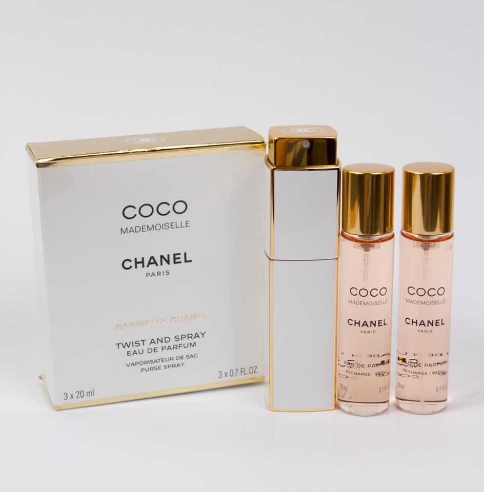 405873b41d Chanel Coco Mademoiselle Eau de Parfum Twist and Spray Purse Spray (3 x  20ml). 123456789101112