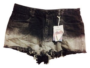 Forever 21 Denim Shorts-Distressed