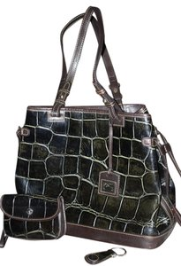Dooney & Bourke Tote in BLACK, BROWN, OLIVE