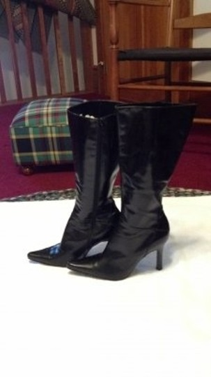 Nine West High Like New black leather Boots