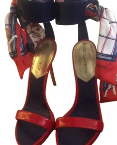 Dsquared2 Red Platforms
