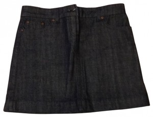 J.Crew Jean Skirt dark denim