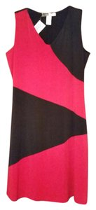 California Concepts short dress Black/Red on Tradesy