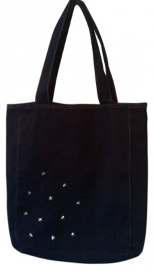 Preload https://item1.tradesy.com/images/big-black-silver-star-stuuded-canvas-tote-146805-0-0.jpg?width=440&height=440