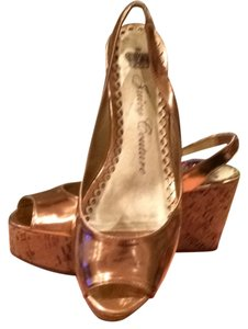 Juicy Couture COPPER METALLIC NAPPA Platforms