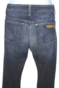 JOE'S Blue Denim Straight Leg Jeans-Medium Wash