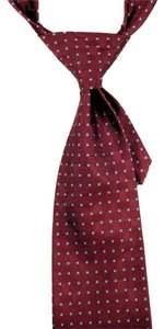 Brooks Brothers Brooks Brothers Makers 100% Silk Tie Maroon and Blue