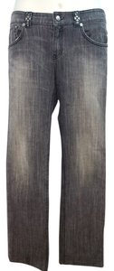 Elie Tahari Gray Jeans Straight Pants