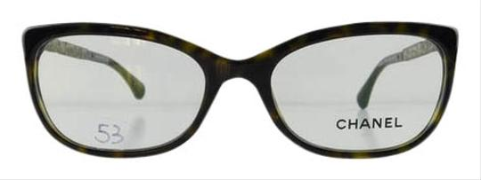 Chanel Eyeglass Frames With Rhinestones : Chanel Gently Used Eyeglasses 3305-B c. 714 Havana Acetate ...