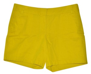 J.Crew Broken In Casual Resort Bermuda Shorts Neon Yellow