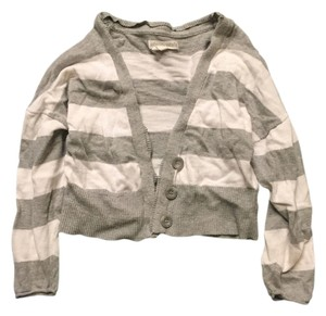 Aéropostale Classic Trendy Preppy Striped Cardigan