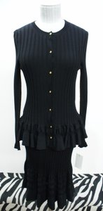 Emilio Pucci short dress Black Knit on Tradesy