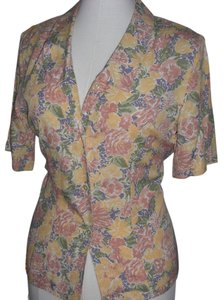 Charter Club Floral Button Down Shirt Multi