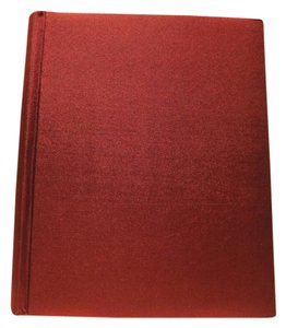 Other Red Satin Photo Album - [ Roxanne Anjou Closet ]