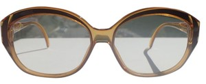 Dior Christian Dior 2109 Sunglasses/Eyeglasses Frame (only) Honey Gold Optyl Plastic