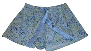 ALFANI Mini/Short Shorts Blue & Yellow Multi