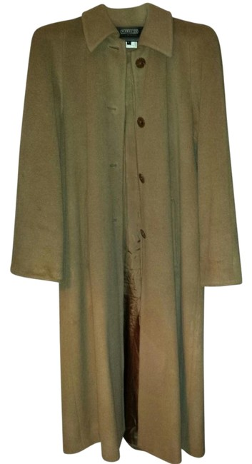 Pierrette/Cashmere 100% Cashmere Open Pleat In Back Very Chic And Warm Rich Color Coat