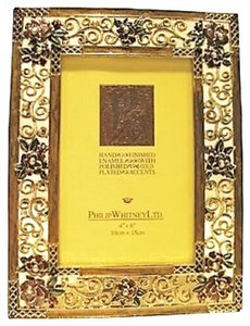Philip Whitney LTD. Amelia Gold Plated Frame by Philip Whitney Limited (for Photos: 4