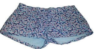 H&M Mini/Short Shorts Pink & Blue Floral