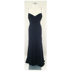 Amsale BLACK P346cblk Dress