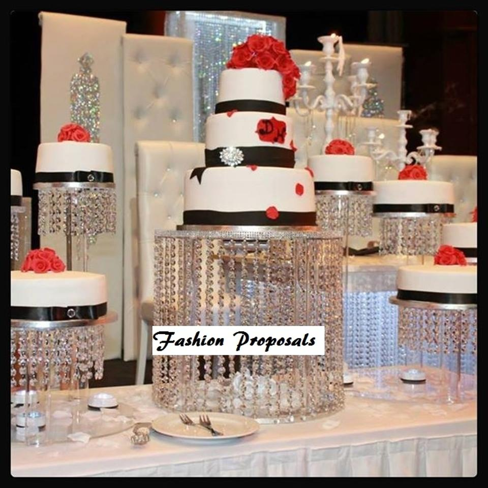 Waterfall Cake Stands For Wedding