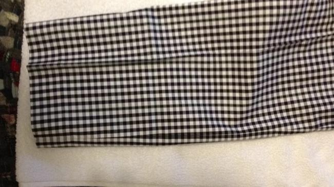 Banana Republic Ryan Fit Capris black & white gigham check